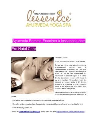 Ayurveda Femme Enceinte à lessencce.com