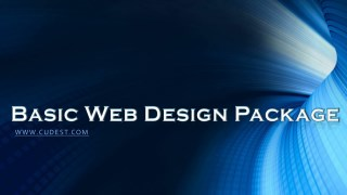 Basic Web Design Package
