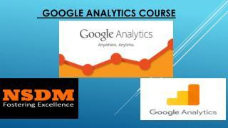 Advance Google Analytics Course