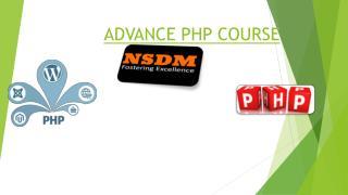 Advance Php Course