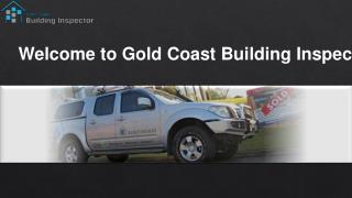 Gold coast Building inspections