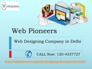 Web Designing Company in Delhi Call | 120-4337727