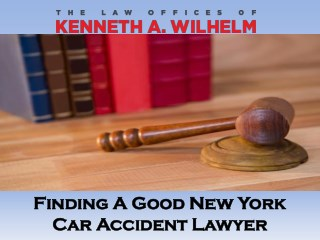 Finding A Good New York Car Accident Lawyer
