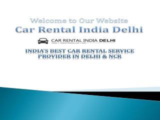 Car rental companies in Delhi