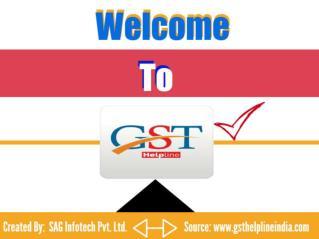 GST Helpline - A Complete GST App TO RESOLVE GST INDIA QUERIES