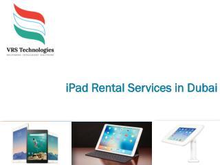 iPad Rental Dubai-VRS Technologies