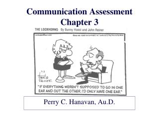 Communication Assessment Chapter 3