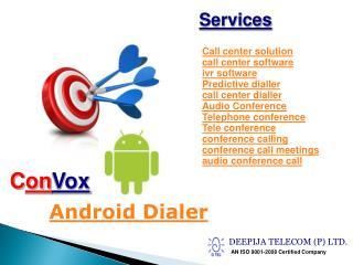Best Call Center Dialer solution at www.deepijatel.com