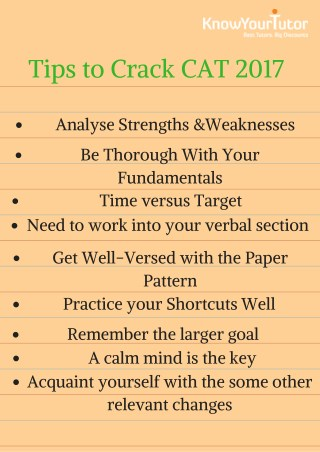 Best CAT Coaching institute in Chandigarh