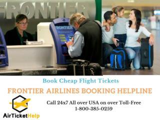 Frontier Airlines Booking Helpline