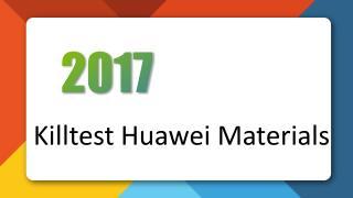 H31-311 Huawei Certified Network Associate-Transmission Killtest Practice Exam