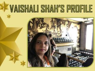 Know about Shrivedant Foundation- Founded by Vaishali Shah