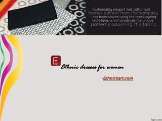 Ethnic Dresses for women-Ethnickart