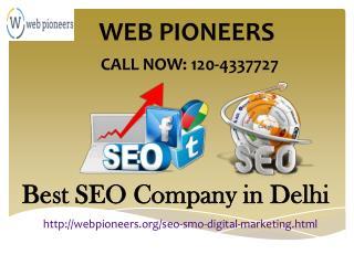 Best SEO Service Company in Delhi | 120-4337727