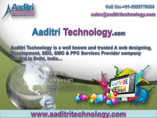 Aaditri Technology- Best Website Development Company in Delhi