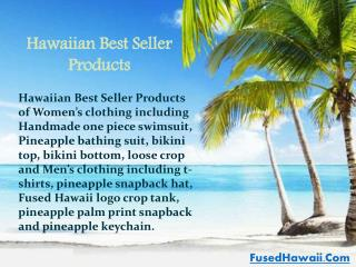 Fused Hawaii Best Selling Products - One Piece Swimwear