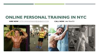 Online Personal Training in NYC - Maik Wiedenbach
