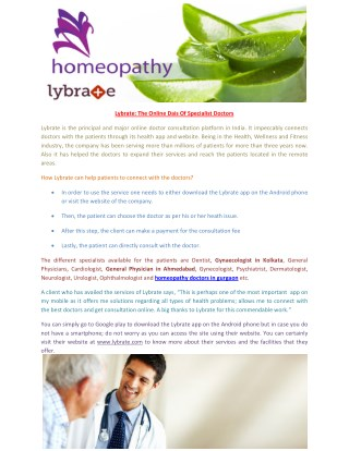 homeopathy doctors in gurgaon