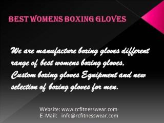 Best Womens Boxing Gloves | Custom Boxing Gloves | RC Fitness Wear