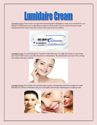 http://www.supplements4news.com/lumidaire-cream/