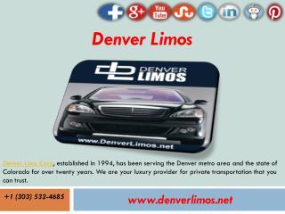 Limo Service Denver