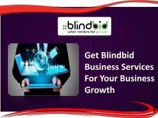 Sell your business online on blindbid