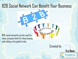 B2B Social Network Can Benefit Your Business