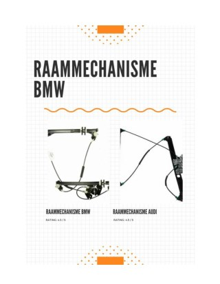 Raammechanisme bmw