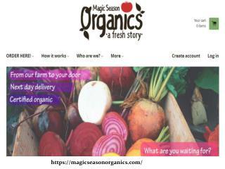 Buy Organic Vegetables Online