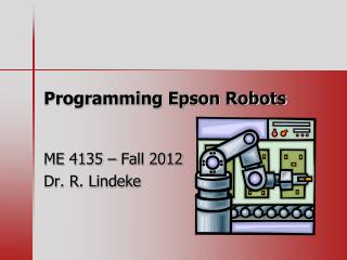 Programming Epson Robots