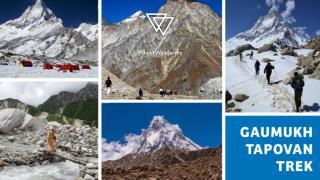 Gaumukh Tapovan Trek, Ice trek in india,