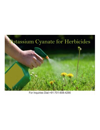 Potassium Cyanate for Herbicides