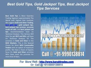 Best Gold Tips, Gold Jackpot Tips, Best Jackpot Tips Services
