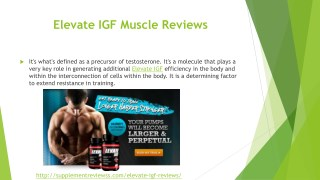 Elevate IGF Muscle Reviews, Price, Buy and Cost