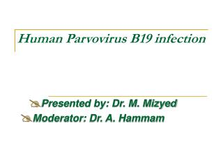 Human Parvovirus B19 infection