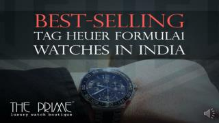 Best-Selling Tag Heuer Formula 1 Watches In India