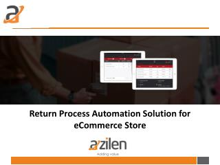 iPad Application as Return Process Automation Solution for eCommerce Store