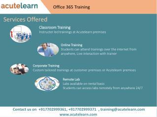 Office 365 Training