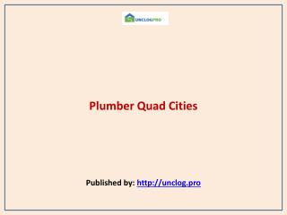 Plumber Quad Cities