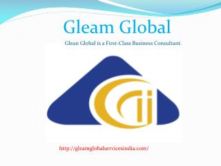 Give The Best Ideas for Business Planning -Gleam Global