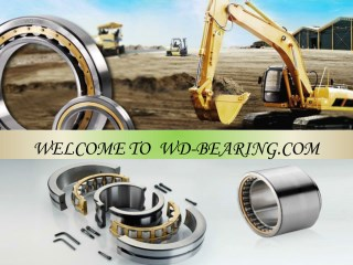 Carrier Roller bearings