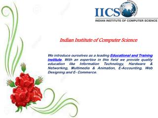Find the best computer courses for better careers -  IICS India