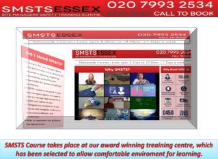 SMSTS Centre Southend, UK