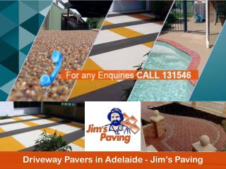 Driveway Pavers in Adelaide - Jim's Paving