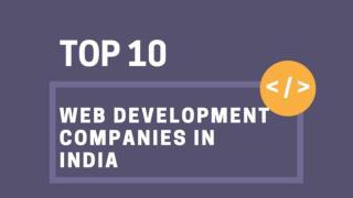 Top 10 Web Development Companies