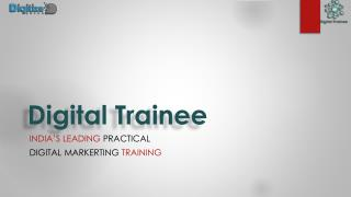 Best Digital Marketing Course In Pune,Work On Live Projects:Digital Trainee