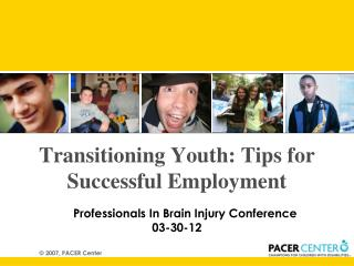 Transitioning Youth: Tips for Successful Employment