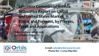 2017-2022 Commercial Vehicle Telematics Industry