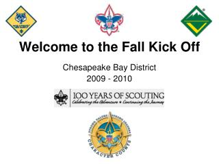 Welcome to the Fall Kick Off
