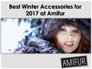 Best Winter Accessories Real Fur Stoles for 2017 at Amifur